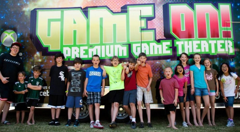 Mobile Game Theater Birthday Parties